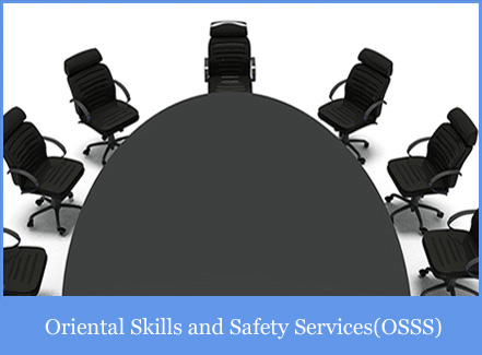 Services of Oriental Skills and Safety Services Pvt Ltd